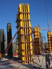 Балочно-ригельная колонна